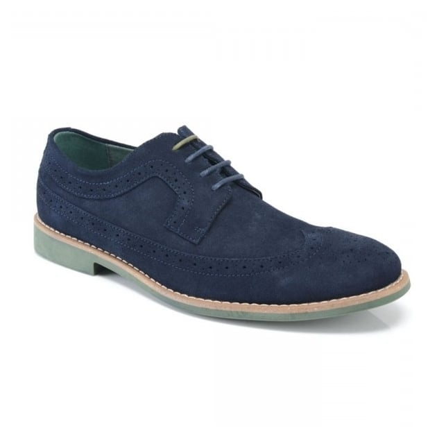 Front Fadden 2 (Fr713) Navy Shoes