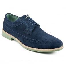 Front Fadden Fr7076 Navy Shoes