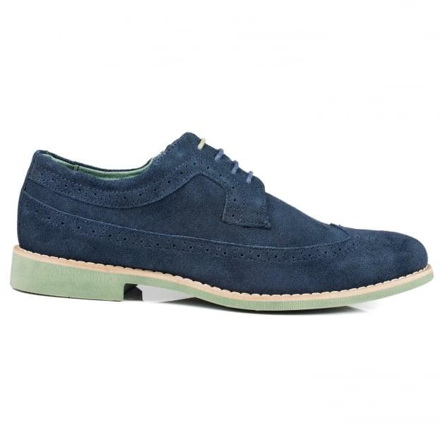 Front Fadden Fr7076 Navy Shoes