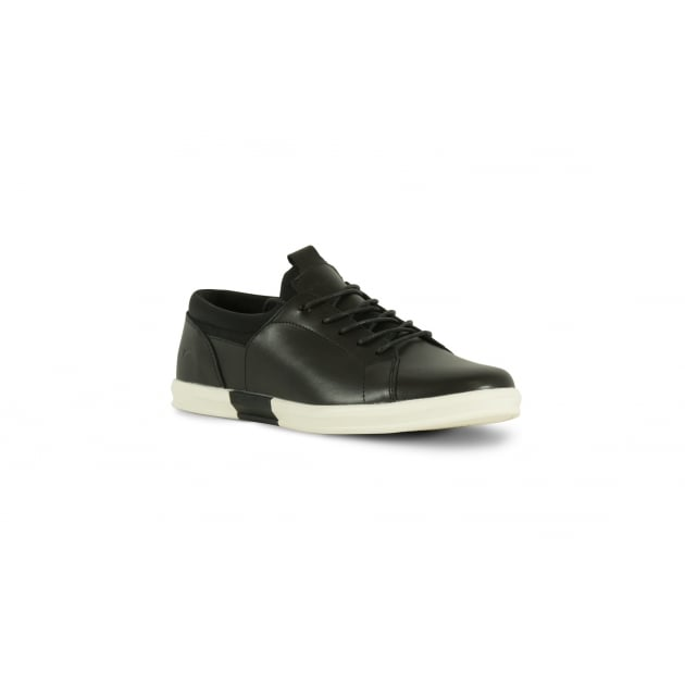 Front Jersey Casual Shoe - Black