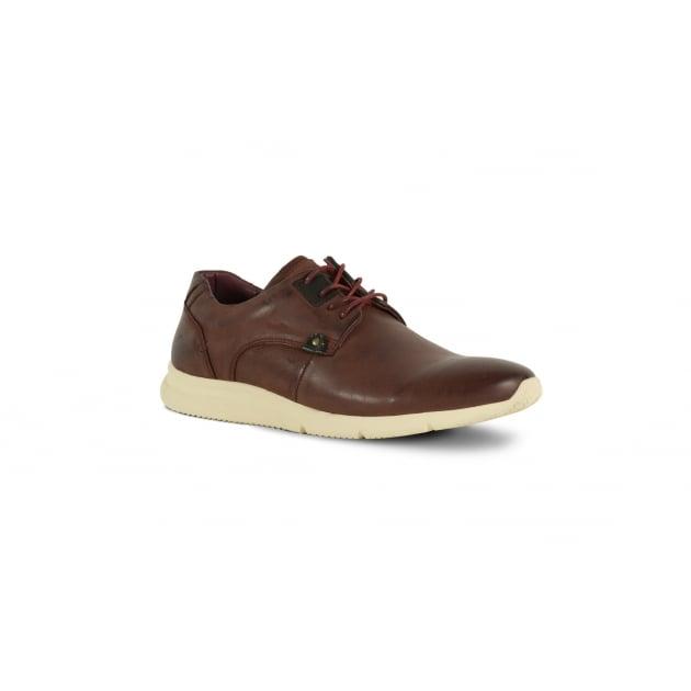 Front Olsen Casual Shoe - Burgundy
