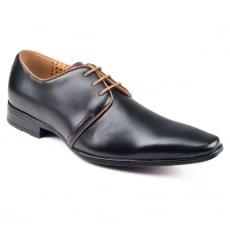 Front Mazza Black Shoes