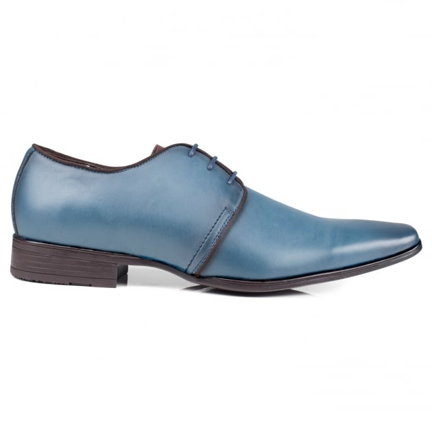 Front Mazza Blue Shoes