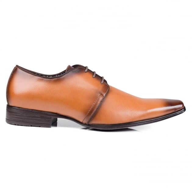 Front Mazza Mid Brown Shoes