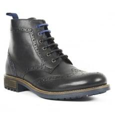 Front Morris Fr7241 Black Boots