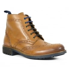 Front Morris Fr7241 Tan Boots