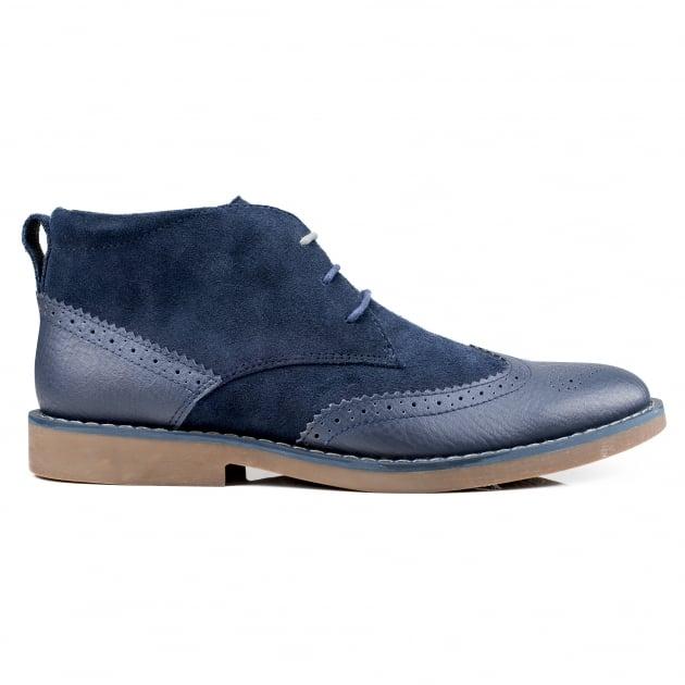 Front Reggie  Navy Boots