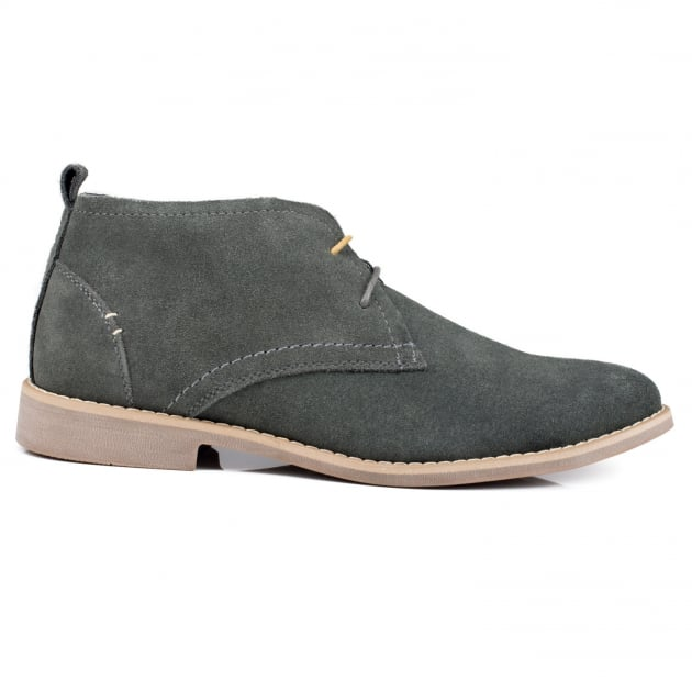 Front Roscoe (Fr6991) Grey Boots