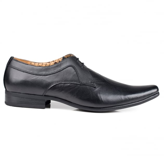 Front Rossi Black Shoes