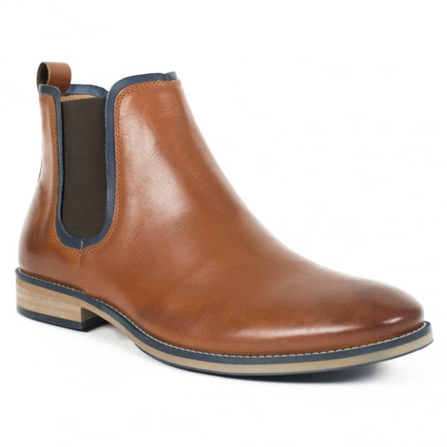 Stanford (Fr725) Tan Boots