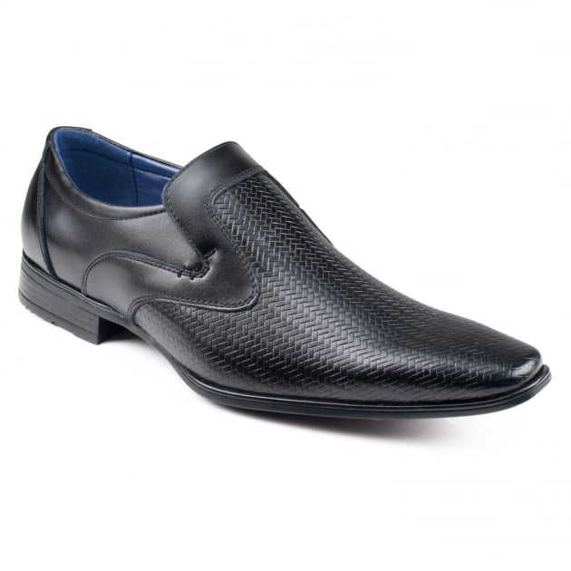 Front Toledo Black Shoes