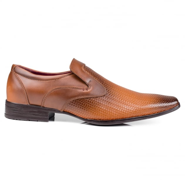 Front Toledo Mid Brown Shoes