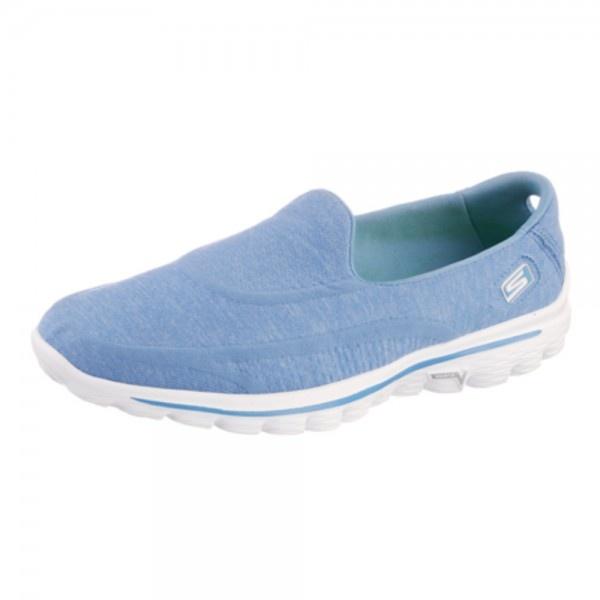 Skechers Go Walk 2 Super Sock Blue Shoes