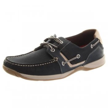 Chatham Goodison Navy Shoes