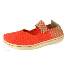 Hey Dude E Last Mary Jane Coral Canvas