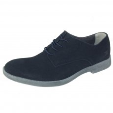 Hey Dude Volterra Suede Navy Shoes