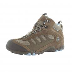 Hi Tec Penrith Mid Wp  Brown/Blue Boots