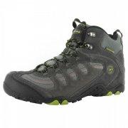 Hi Tec Penrith Mid Wp Charcoal/Chartreuse Boots