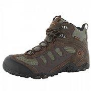Hi Tec Penrith Mid Wp Chocolate/Taupe/Orange Boots