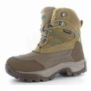 Hi Tec Snow Peak 200 Waterproof Taupe/Mint Boots