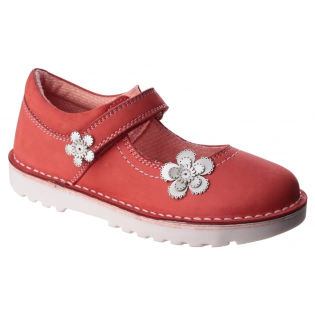 Hush Puppies Beth Girls Junior Casual Shoe-Raspberry
