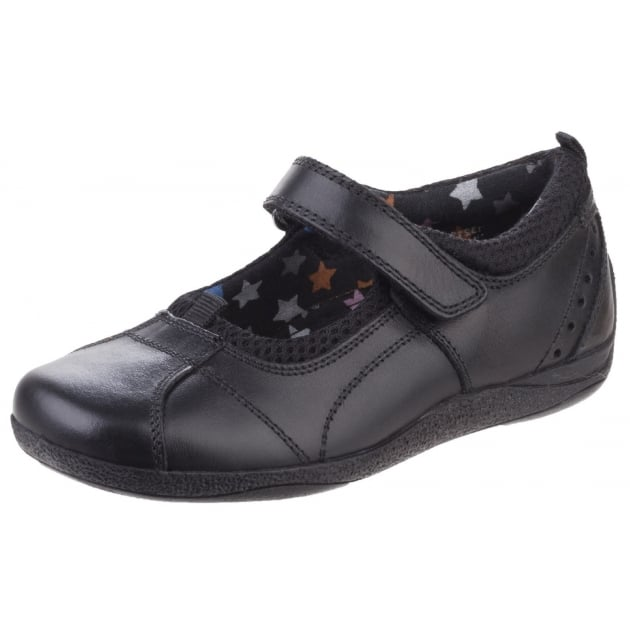 Hush Puppies CINDY H32134000 LEATHER-BLACK