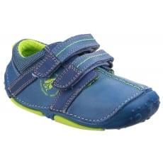 Hush Puppies Eddy Pre-Walkers Shoe-Blue