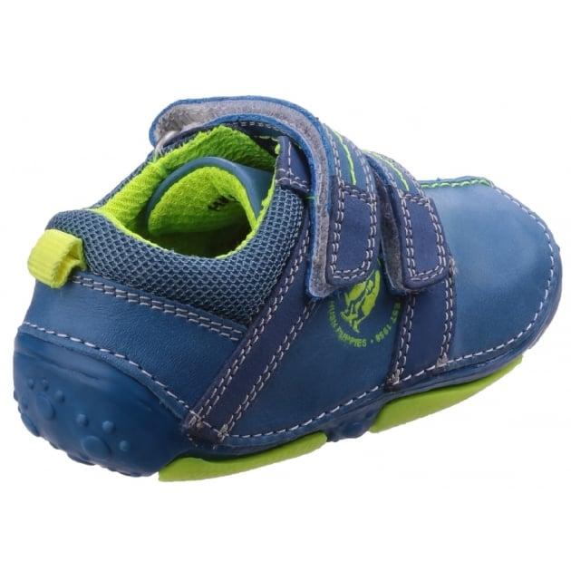 Eddy Pre-Walkers Shoe-Blue