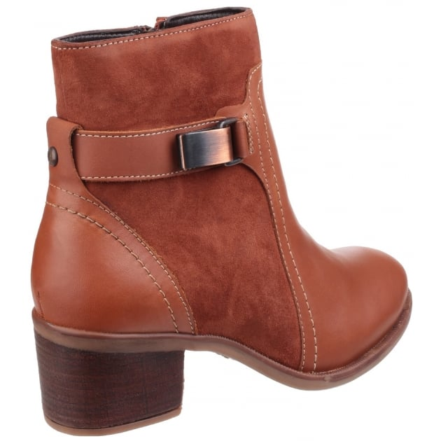 Hush Puppies Fondly Nellie Zip up Ankle Boot