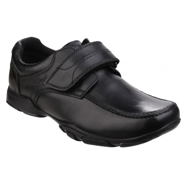 Hush Puppies Freddy 2 Senior Boys Back to School Shoe-Black