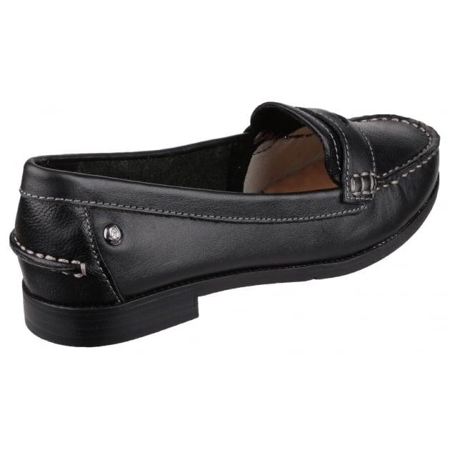 Hush Puppies Iris Sloan Slip on Loafer Shoe-Black