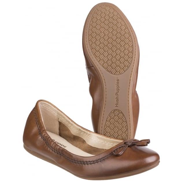Hush Puppies Lexa Heather Bow Women's Slip on Shoe