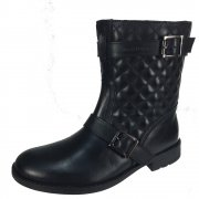 Hush Puppies Lilly Quilted Black Girls