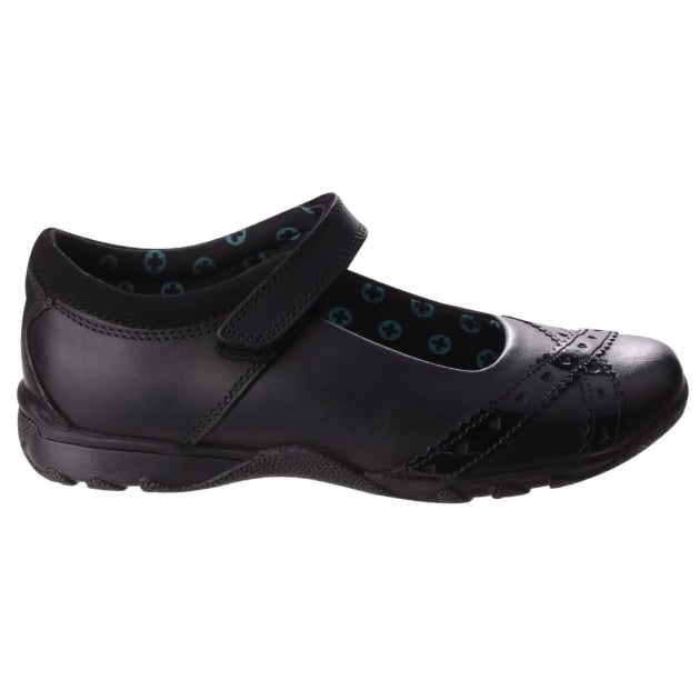 Olivia Girls Back to School Shoe-Black