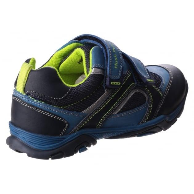 Oscar Boys Junior Casual Shoe-Navy