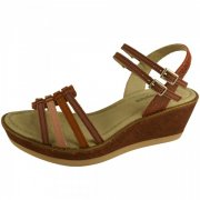 Hush Puppies Roux Qtr Strap  Pink Multi Sandals
