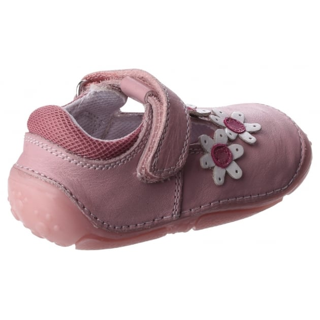Hush Puppies Ruby Pre-Walkers Shoe-Pale Pink