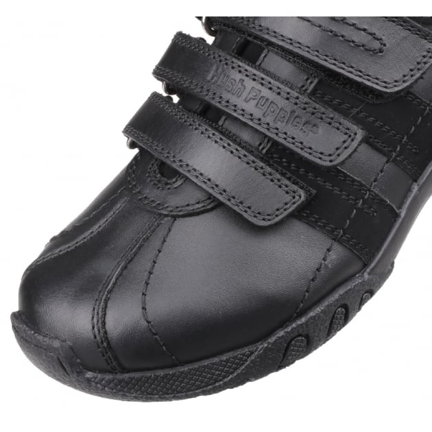 Hush Puppies SEB HKY8163 LEATHER-BLACK