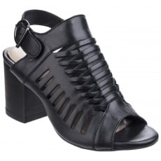 Hush Puppies Sidra Malia Heeled Sandal-Black