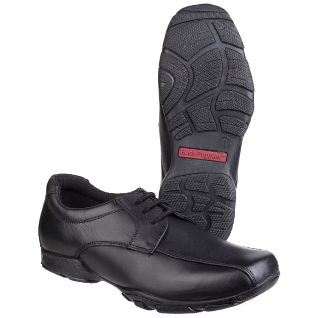 Vincente Boys Back to School Shoe-BLACK