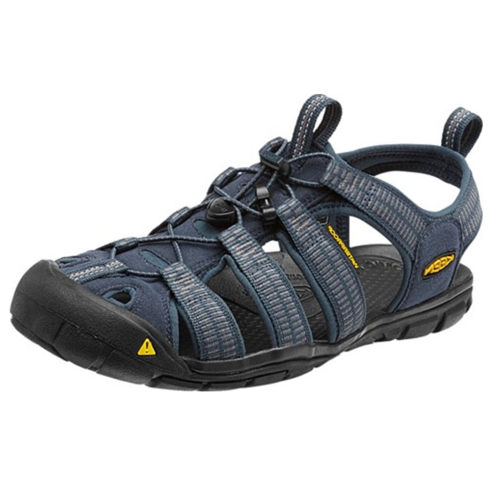3962f62f6634a Keen Clearwater Cnx Men s Midnight Navy Gargoyle Sandals - Free Delivery at  Shoes.co.uk