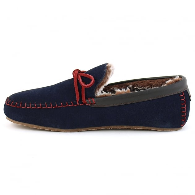 Benson - Navy/Red