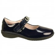 Lelli Kelly Nicole 8200  Navy Patent Girls