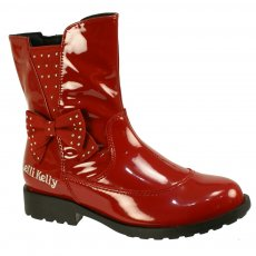 Lelli Kelly Pollie Lk5816 Red Girls Boots