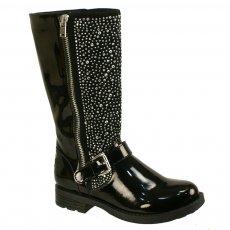 Lelli Kelly Polvere Di Stelle 3 Lk5406 Black Girls Boots