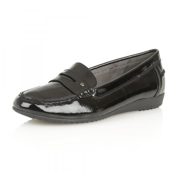 lotus blount 50556 s black shiny shoes free