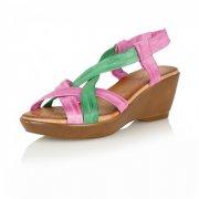 Lotus Cadiz 20005 Fuschia Blossom Sandals