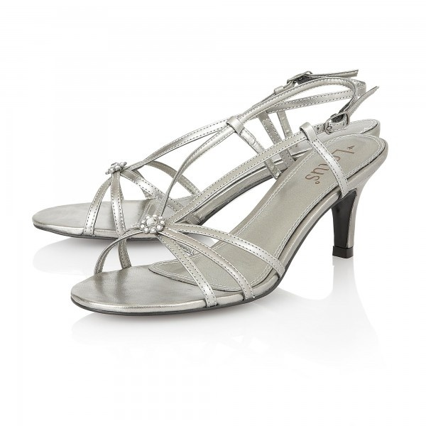 bca90984be94d Lotus Carmelina 7492 Women s Pewter Sandals - Free Delivery at Shoes.co.uk