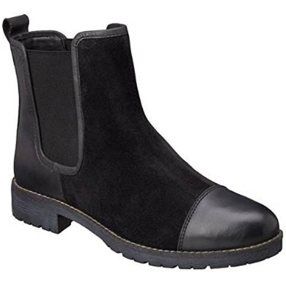 lotus jessalyn 40240 s black leather suede boots