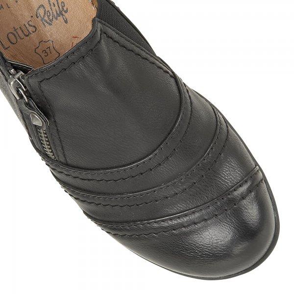 Lotus Black Kaley Shoes